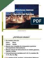 Quimica Del Petroleo y Definiciones Basicas