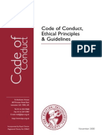 CoC, Ethical Principles & Guidelines