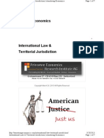 International Law & Territorial Jurisdiction by Martin Armstrong