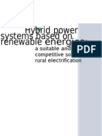 Are-wg Technological Solutions - Brochure Hybrid Systems
