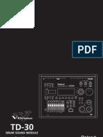 TD-30 Owner's Manual