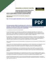 Los Derechos Fundamentales en Internet (2)