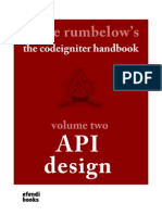 Codeigniter Handbook Vol Two | Representational State Transfer