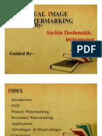 Dual Image Watermarking