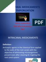 Slides 7 Intracanal Medicaments Temporization