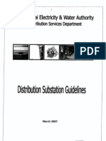 DEWA Distribution Substation Guidelines Mar 2007