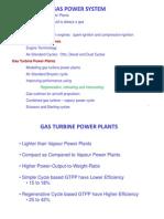 L4-Gas Turbine Systems SSR