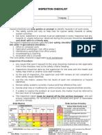 Hazard Checklist CORE