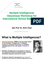 multiple intelligences awareness workshop for isb