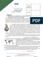 Evaluare in Educatie Cls v 2012 Subiect