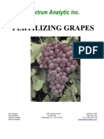 Fertilizing Grapes