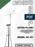 Astro Plane Av101 Om
