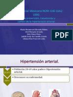 Norma Oficial Mexicana NOM-030-SSA2-1999 HTA Completa