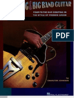 Jazz Rhythm Guitar for Swing Guitar and Big Band Styles - Charlton Johnson