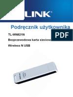 Tl-wn821n User Guide_pol
