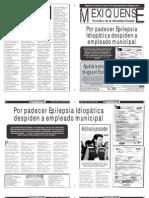 Versión impresa del periódico El mexiquense 19 abril 2013