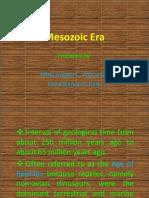 Mesozoic Era Presentation