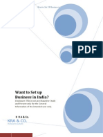 Want to Set Up Business in India