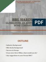 brl hardy globalizing an australian wine