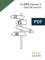 HTC DesireX User Guide ESN