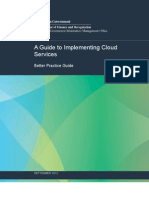 A Guide to Implementing Cloud Services