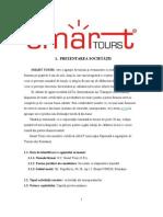Proiect de Practica La Agentia de Turism SC Smart Tours SRL