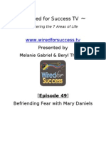 Befriending Fear With Mary Daniels [Episode 49] Wired For Success TV