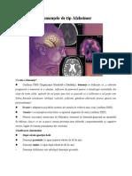 Demențele de tip Alzheimer