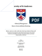 An Empirical Investigation of the Relationship between Narcissistic Tendencies of Students and Their Perception of Ethics and Social Responsibility in Business