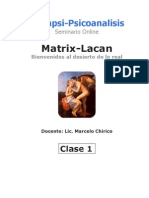 Clase 1 - Matrix-Lacan - M.chirico - Intrapsi