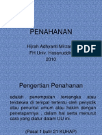 PENAHANAN