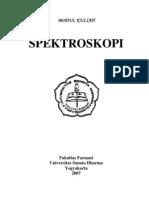 Modul Kuliah Fakultas Farmasi Universitas Sanata Dharma Yogyakarta Spektroskopi Uv Vis Spektro Fluorometri Nmr Ms Dan Elusidasi Struktur