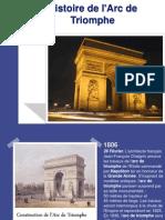 Histoire de l'Arc de Triomphe