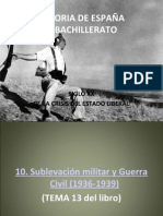 HISTORIA DE ESPAÑA TEMA 10