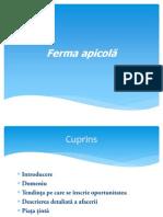 Ferma apicolă pdf