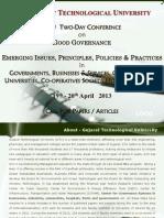 Gtu Good Governance Brochure 2013