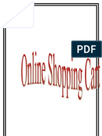 Online Shopping System Project Report