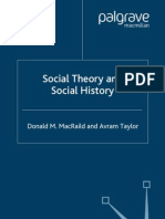 Social Theory and Social History