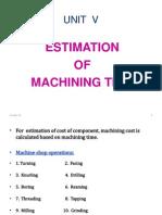 Machine Cost U 5_001