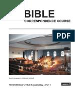 Bible Lesson 7