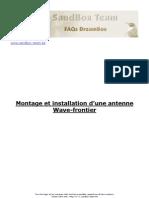 2.02 Montage Et Installation d Une Antenne Wave Frontier