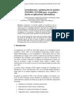 Procesos de normalización y optimización de modelos de datos