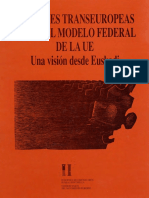 Las Redes Transeuropeas y el modelo Federal de la UE