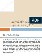Automatic Watering System Using PIC