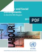 Survey of Economic and Social Developments in the ESCWA Region