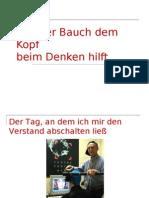 VORTRAGwiederbauchdemkopfbeimdenkenhilft - Neu