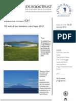 Ibt Newsletter Jan 2013