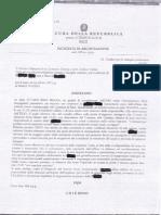 Richiesta di Archiviazione ARI vs Servizi Sociale Comune Di Rieti
