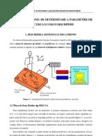 Sistem Mecatronic de Determinare a Parametrilor Functiei Locomotorii Bipede