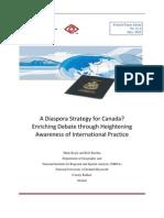Diaspora Strategy Canada